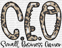 CEO Small Business Owner