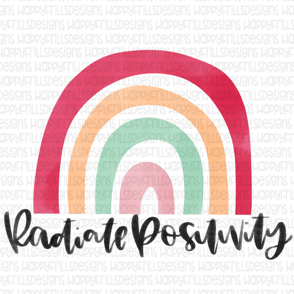 Radiate positivity rainbow