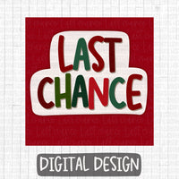 Christmas Last chance Business Group Graphic