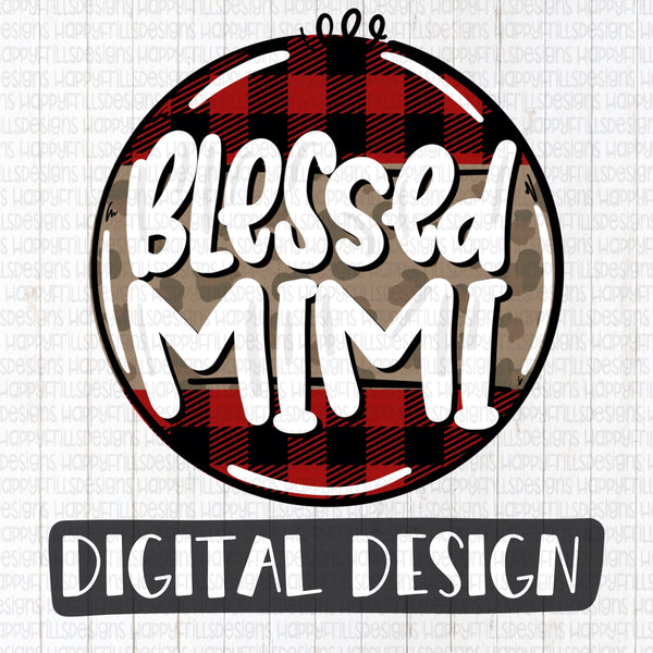 Blessed Mimi plaid/leopard