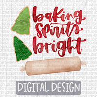 Baking Spirits Bright With Christmas Cookies