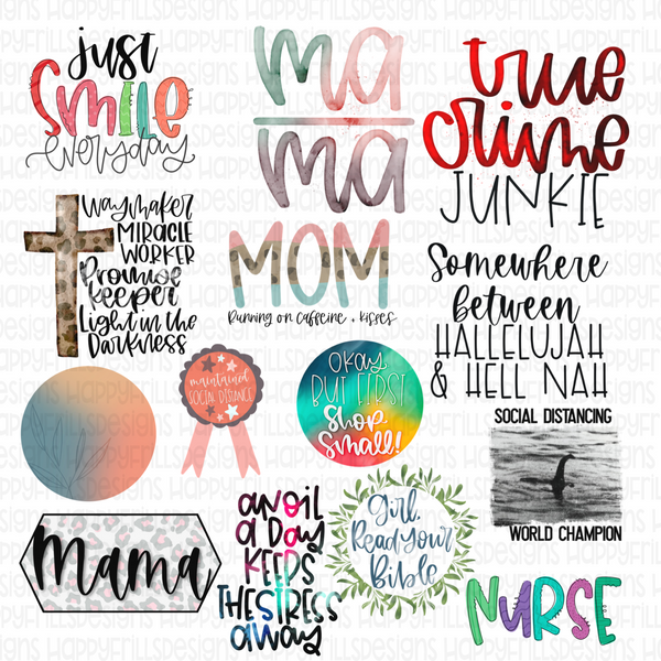 14 design Bundle Deal + two bonus freebies
