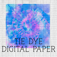 Purple Tie-dye Digital Paper