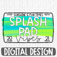 Splash pad Vibes sunshine & fun times