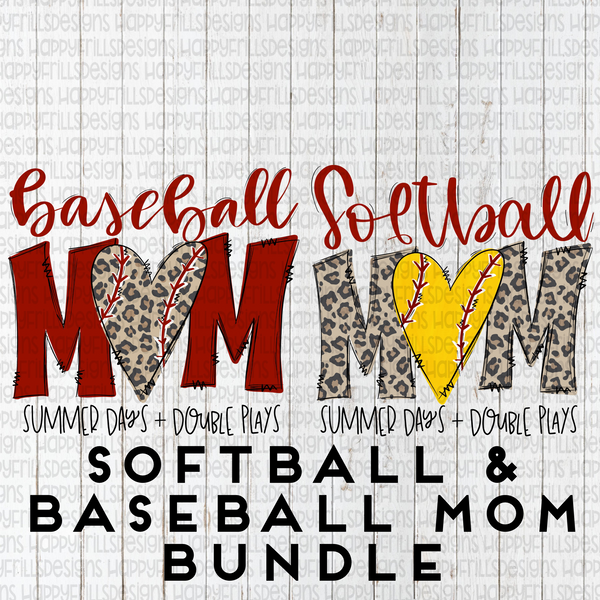 Baseball & softball mom bundle