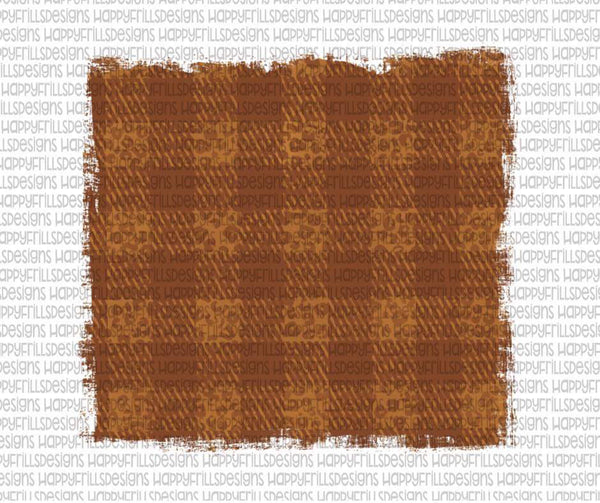 Orange leopard plaid background