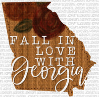 Fall in love with Georgia