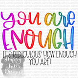 You Are Enough, I Am Enough bundle