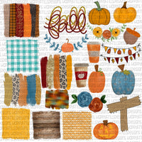 Fall Fun Element bundle