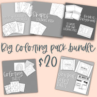 Coloring Big Bundle Pack with licensing
