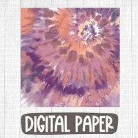 Fall tie dye digital paper
