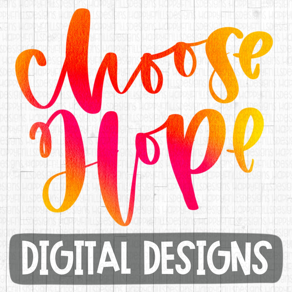 Watercolor Choose Hope