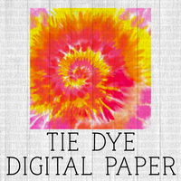 Summer tie dye digital paper