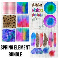 Element bundle for digital and transfer designs