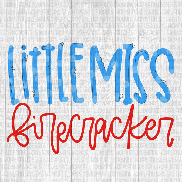 Little Miss Firecracker