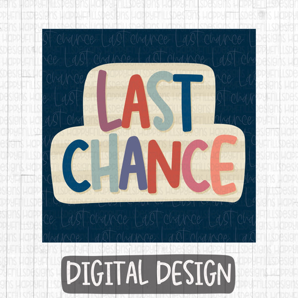 Last Chance Business Group Graphic