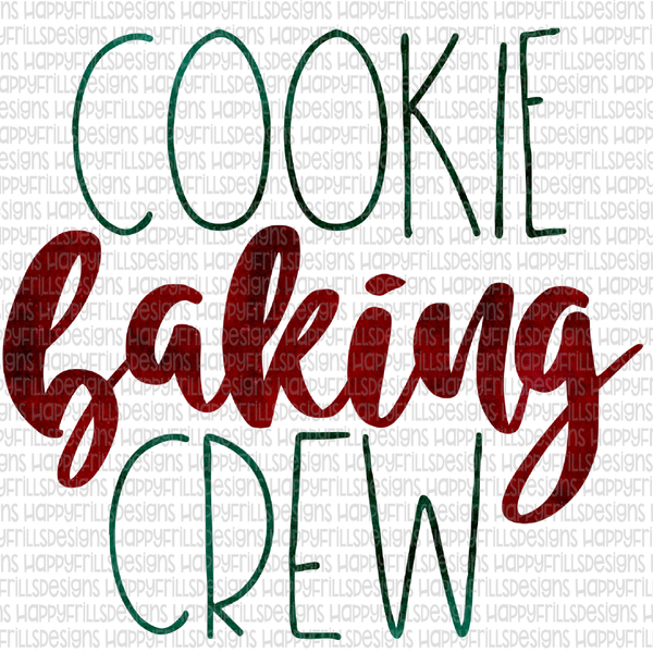 Cookie Baking Crew