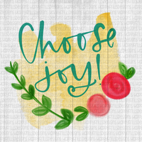 Choose Joy watercolor