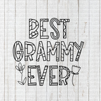 Best Grammy Ever Coloring sheet