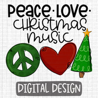 Peace, Love, Christmas Music