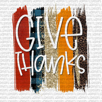 Give Thanks With Background