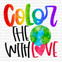 Color the world with love
