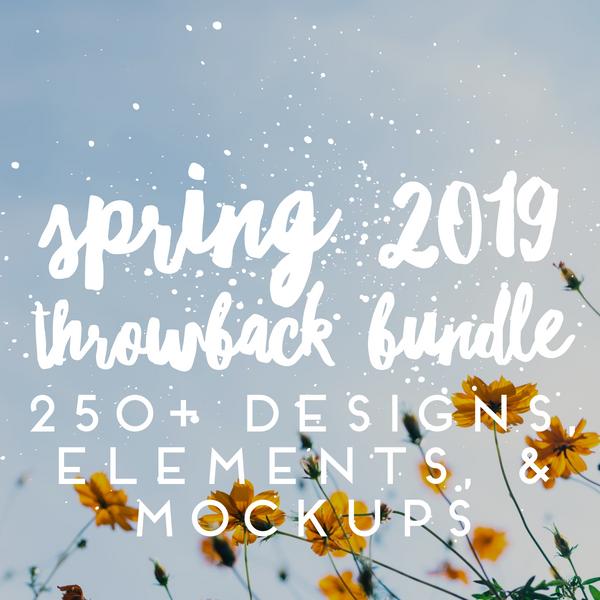 Huge 2019 Spring Throwback bundle