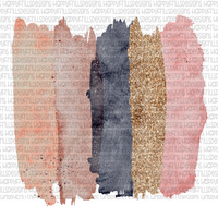 Neutral watercolor brushstrokes