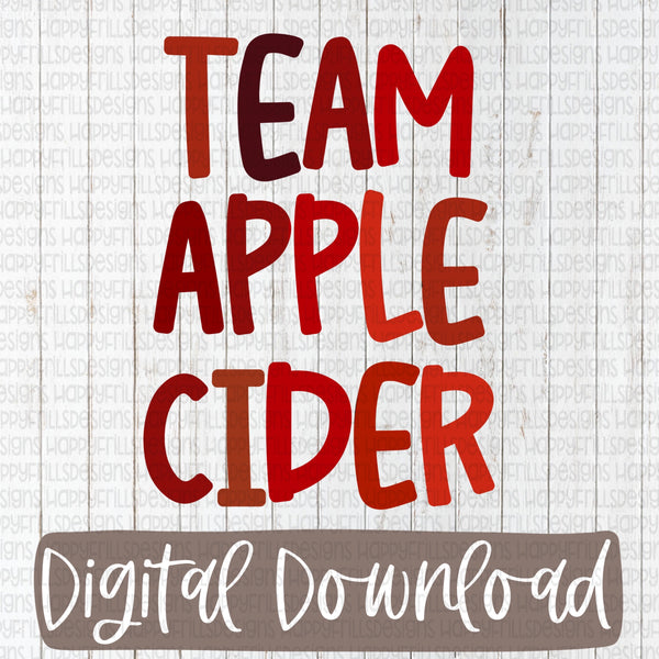 Team Apple Cider