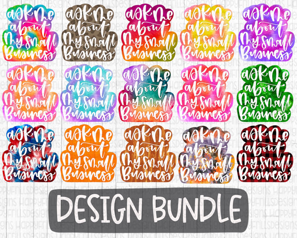 Ask Me About my Small Business Bundle Set