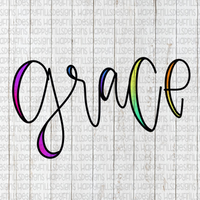 Colorful grace