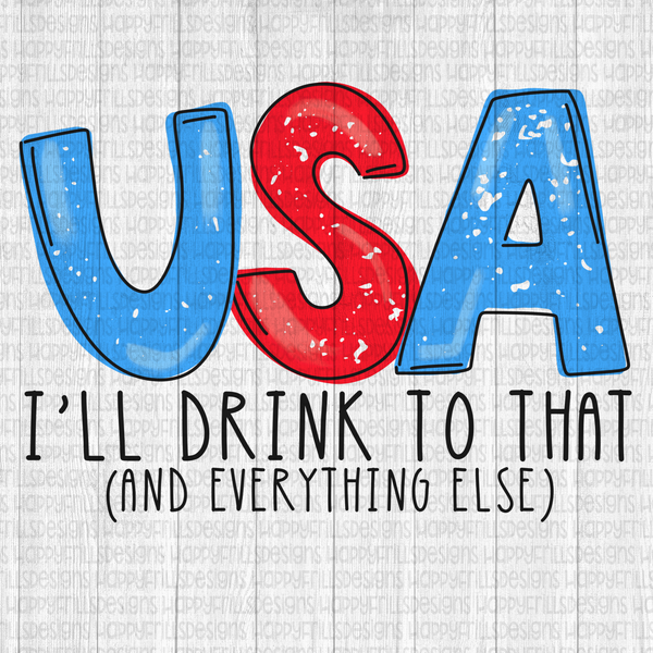 USA I'll drink to that!