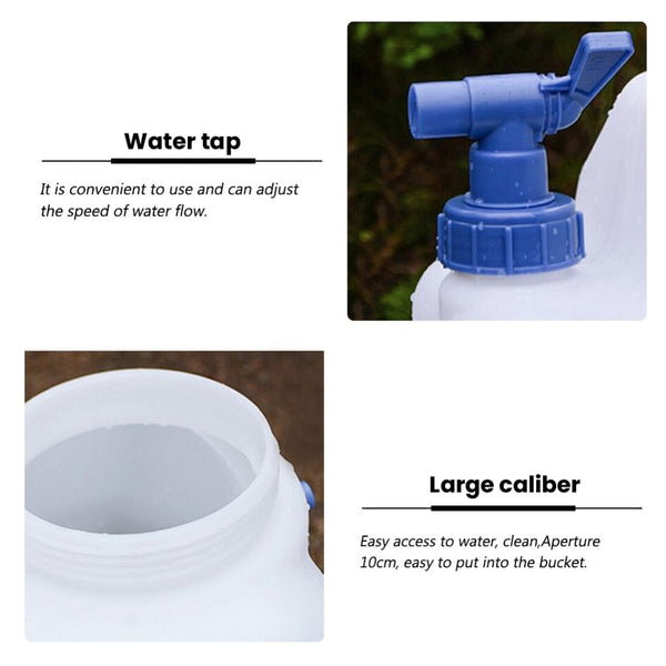 Drinking Bucket Water Container Storage For Camping Outdoor (15L)