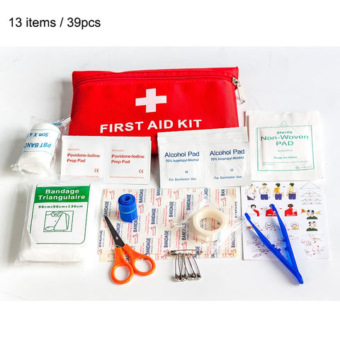 13 items/39pcs  Emergency Survival kit