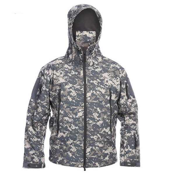 Camouflage Jacket Unisex Military Waterproof Special Tactical Clothing