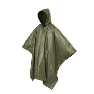 Multifunctional One-Piece Rain Coat/Outdoor Tools