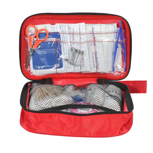 First Aid Kit Medical Bag (180pcs 30 Item )