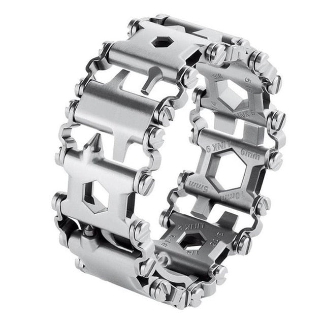 29 in 1 Multi Tool / Bracelet Tread Bracelet Stainless Steel