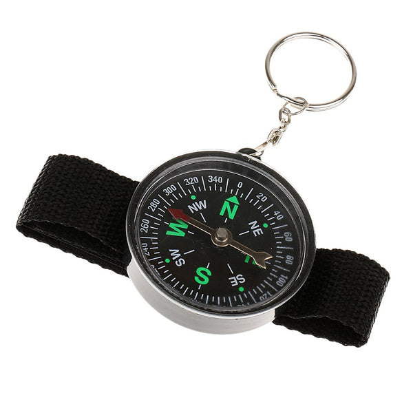 Outdoor Hiking Wrist Compass Shockproof Tactical Wristwatch