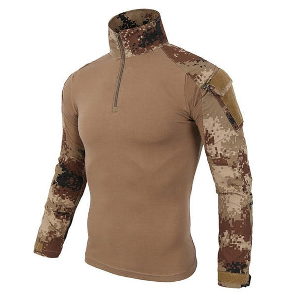 12 Colors Camouflage Tactical Clothing Military Shirts