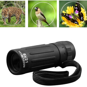 Portable Night Vision Monocular Telescope (Safety & Survival)