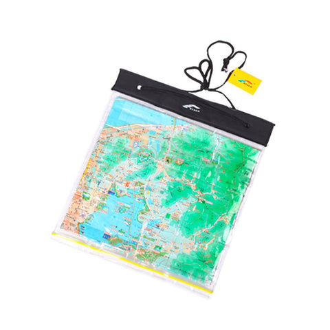 Outdoor Waterproof Map Plastic Bag