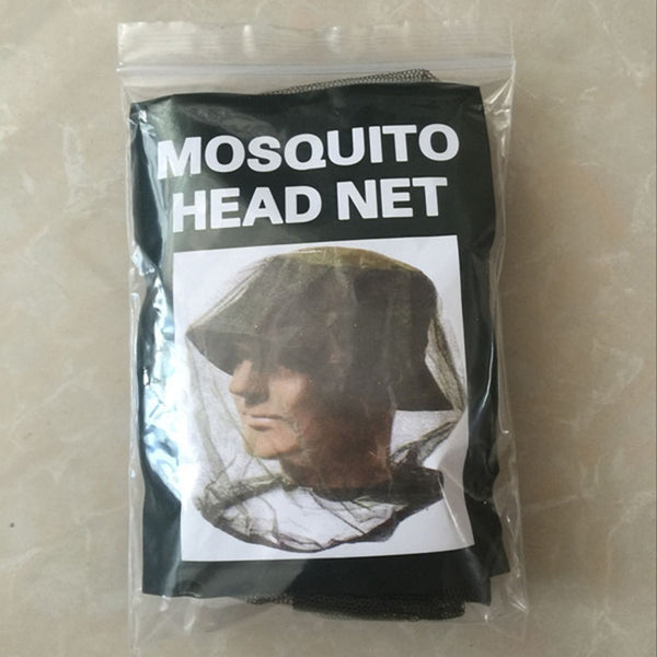 Outdoor Survival Anti Mosquito Face Hat