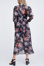 Load image into Gallery viewer, CONSTANCE FLORAL MAXI DRESS