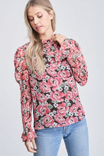 Load image into Gallery viewer, ELLA FLORAL TOP