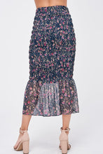 Load image into Gallery viewer, NANCY SMOCKED SKIRT