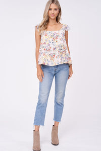 MARIBEL EYELET TOP