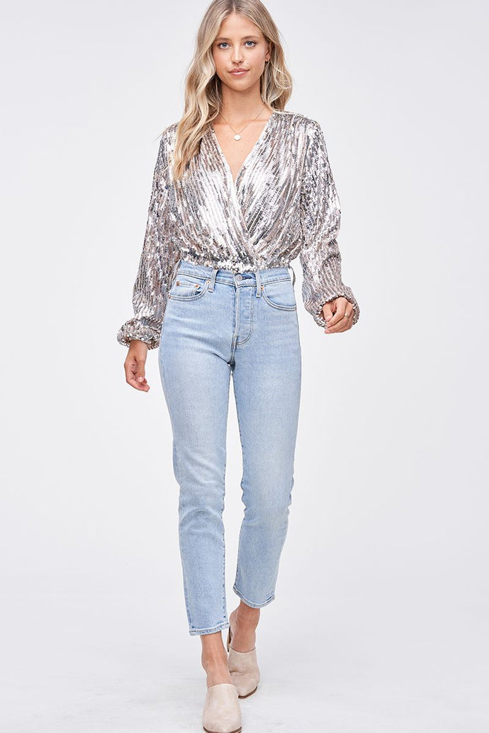 EDELIE SEQUIN BODYSUIT