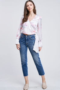 IVA WRAP BLOUSE