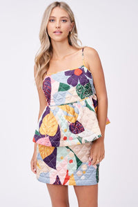 DELPHINE QUILTED TOP